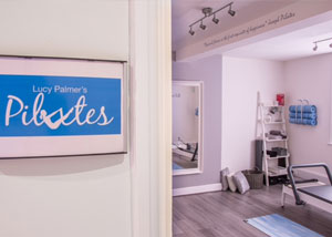 Entrance to Lucy Palmer's Pilates Studio